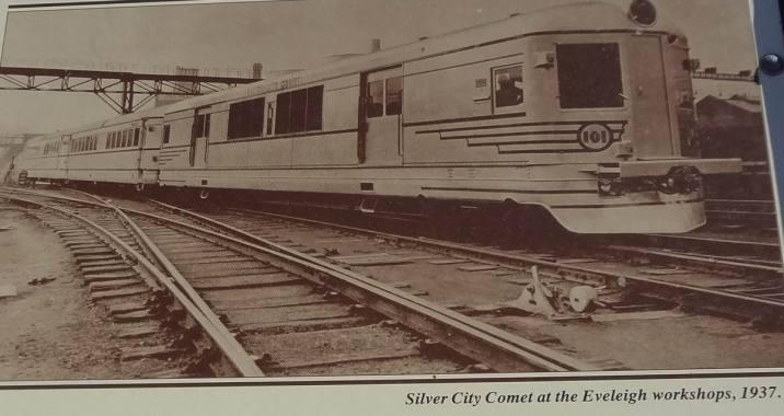 Silver city comet