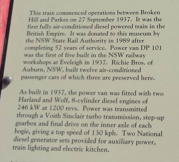 train Blurb