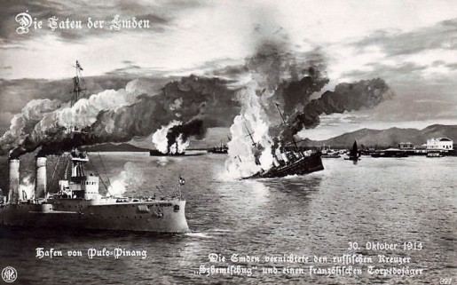 German_postcard_of_the_Battle_of_Penang_1914