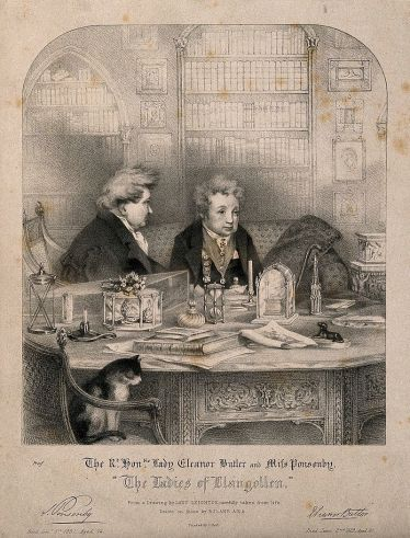 Sarah_Ponsonby_and_Lady_Eleanor_Butler,_recluses_known_as_the_Ladies_of_Llangollen_Wellcome_V0007358