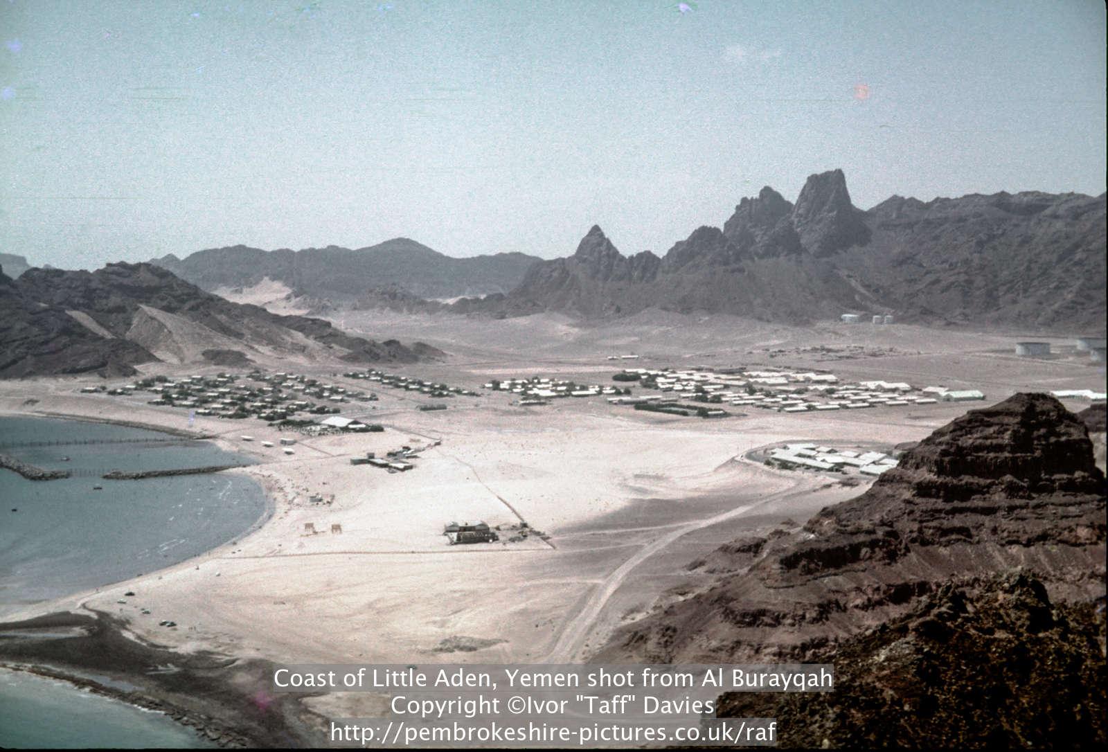 Coast of Little Aden, Yemen shot from Al Burayqah