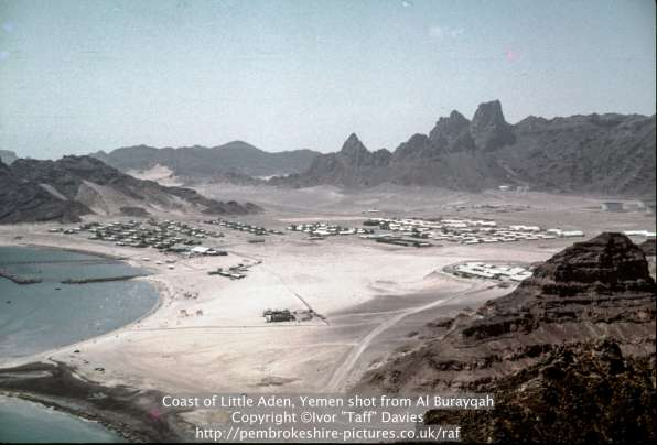 Coast of Little Aden, Yemen shot from Al Burayqah