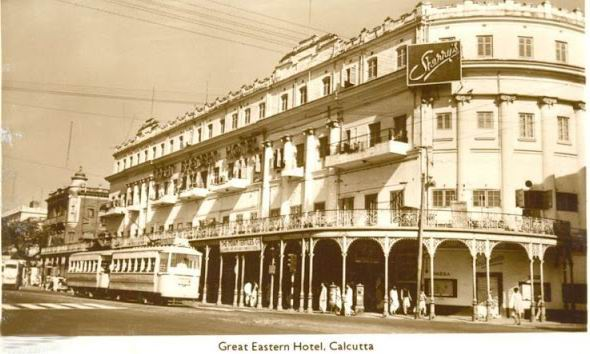 Great Eastern Hotel - Calcutta (Kolkata) 1930's