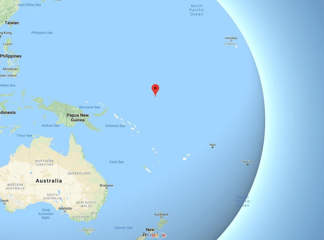 Nauru-location-on-a-map